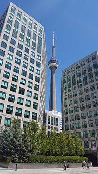 Toronto, Ontario, Cn Tower, City