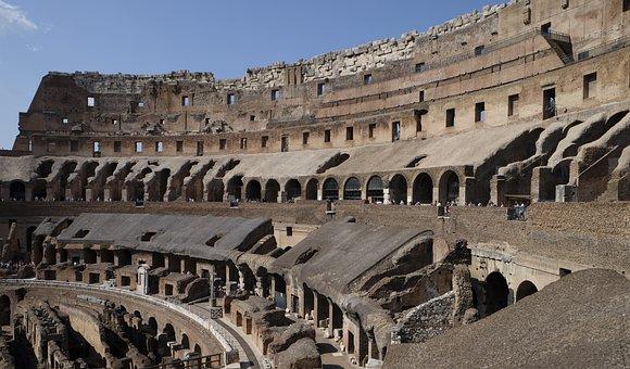 Colosseum, Ancient Rome, Roman History, Gladiators