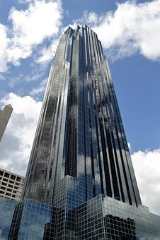 Skyscraper, Houston Texas Building, Downtown, Texas