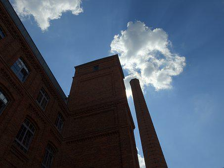 Factory, Sky, City, Chimney, The Industry, Industrial