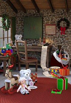 Christmas, Christmas Time, Gift, Decoration, Unpack