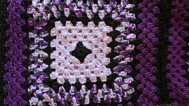 Crotchet, Craft, Pattern, Wool