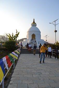 The Stupa, Nepal, Pokhara