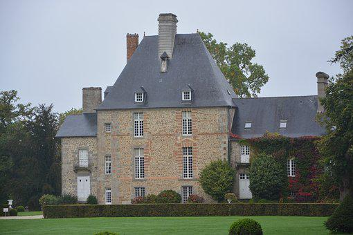 Remains, Beautiful House, Housing, France, Brittany