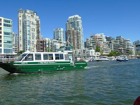 Canada, Vancouver, Boat