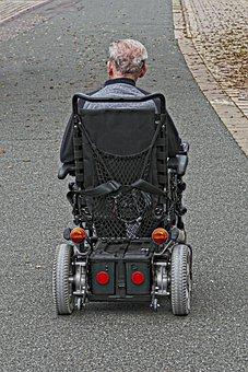 Wheelchair Users, Wheelchair, Electric Wheelchair