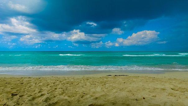 Cuba, Ocean, Beach, Sunny, Atlantic, Water, Varadero