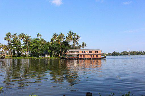 Houseboat, Alleppey, Boat House, Boat, Kerala, Travel