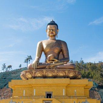 Buddha Dordenma Statue, Buddha, Gautam Buddha, Buddhism