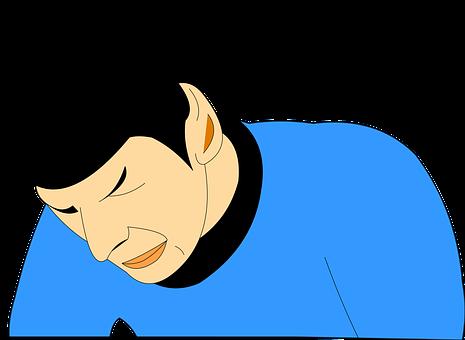 Spock, Star, Trek, Cartoon, Sad, Drawing, Scifi, Vulcan
