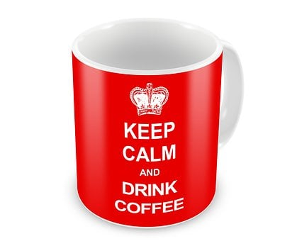 Keep Calm, Coffee, Drink, Design, Cup
