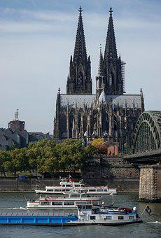 Cologne, Cologne Cathedral, Dom, Landmark, Church