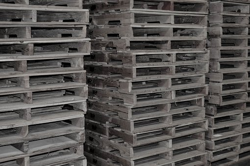 Pallet, Shipping, Delivery, Warehouse, Freight