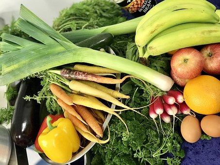 Fruit, Vegetable, Pepper, Food, Green, Banana