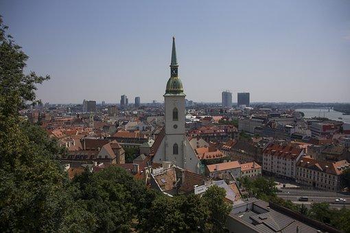 Hungary, Cityscape, Bucharest, Steeple