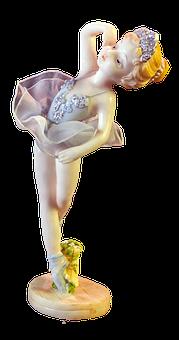 Ballerina Doll, Porcelain Doll, 3d Model