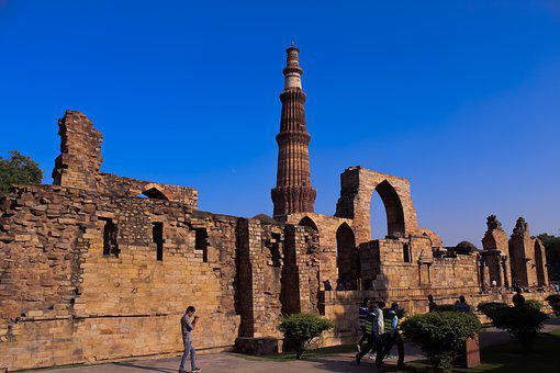 Qutubminar, India, Monuments, Monument, August, Banner