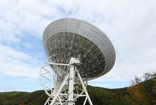 Germany, Effelsberg, Radio, Telescope, Observatory