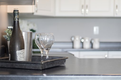 Kitchen, Wine, Staging, Real Estate, Food, Home