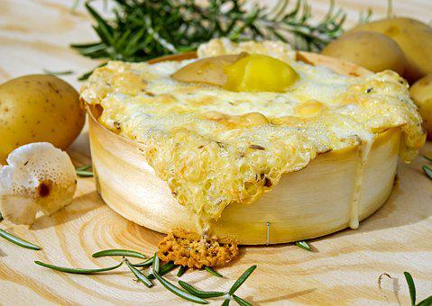 Oven-baked Cheese, Cheese, Baked, Soft Cheese