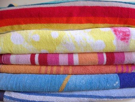 Towels, Towel, Bathroom, Soft, Cloth, Cotton