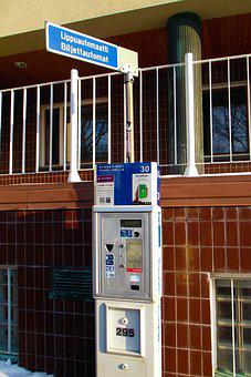 The Ticket Machine, Parking, The Device, Payment, Wall
