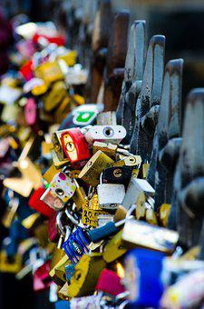 Love Locks, Love, Love Castle, Castles, Castle, Padlock