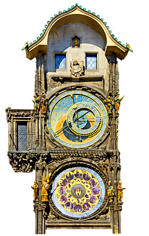 Clock, Prague, Astronomical Clock, Old Town Hall