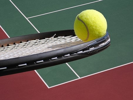 Tennis, Ball, Racket, Court, Tennis Ball, Tennis Racket