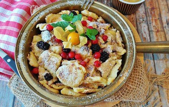 Kaiserschmarrn, Austria, Bavaria, Specialty, Eat