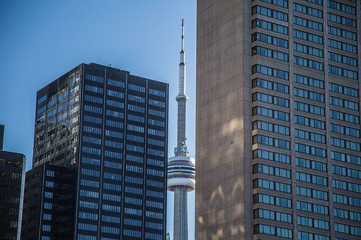 Toronto, Cn Tower, Canada, Building, Architecture, Fall