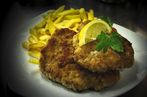 Schnitzel, French, French Fries, Restaurant, Gastronomy