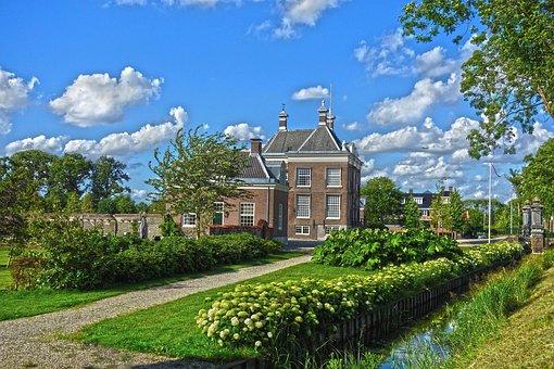 Manor, Estate, Mansion, Building, House