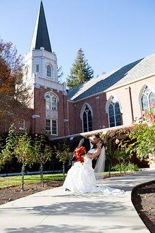 Beautiful, Dress, Bride, Marriage, Happy Day, Woman