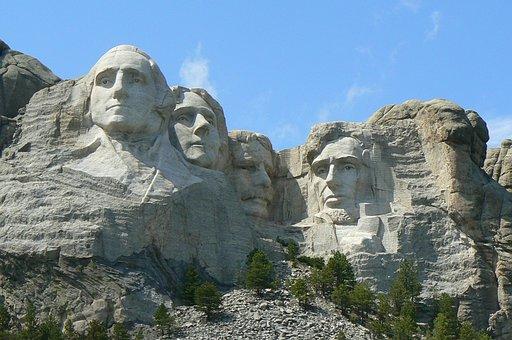 Patriotic, Mount Rushmore, Dakota, South, Memorial