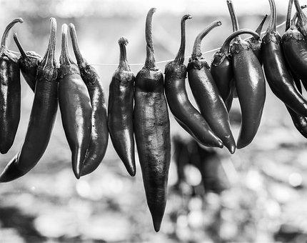 Paprika, Red, Pepper, Seasoning, Food, Fresh, Vegetable