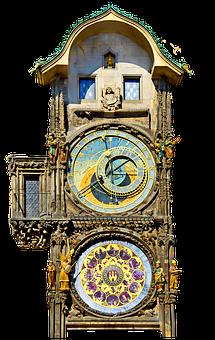 Clock, Prague, Astronomical Clock, Old Town Hall