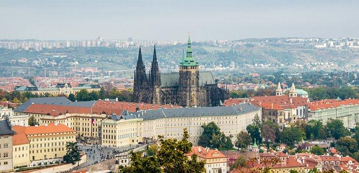 Prague Castle, Prague, Dom, Historical City, Praha