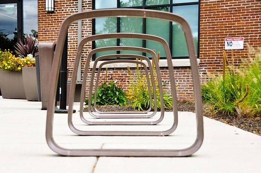 Bike Rack, Perspective, Rack, Urban