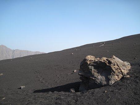 Landscape, Volcano, Lava Sand, Volcanic, Rock