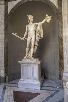 Statue, Vatican Museum, Rome, Sculpture, Roman, Marble