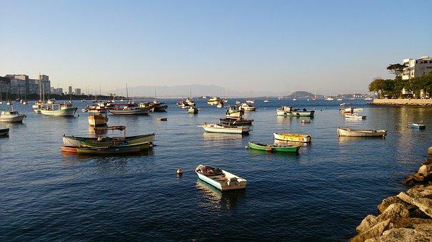 Boats, Mar, Fishing, Yachts, Water, Sailboat, Landscape