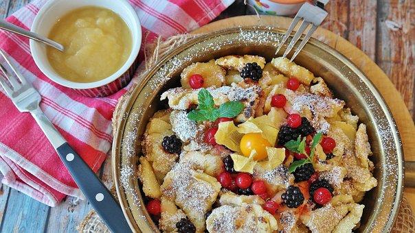 Kaiserschmarrn, Pancake, Austria, Bavaria, Specialty