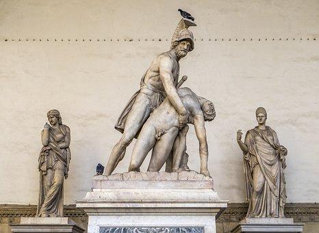 Statues, Work Of Art, Image, Art, Firenze, Marble