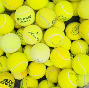 Tennis, Balls, Yellow