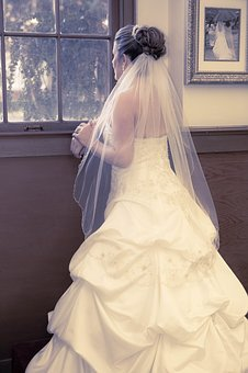 Bride, Thinking, The Big Day, Nervous, Dress, Style