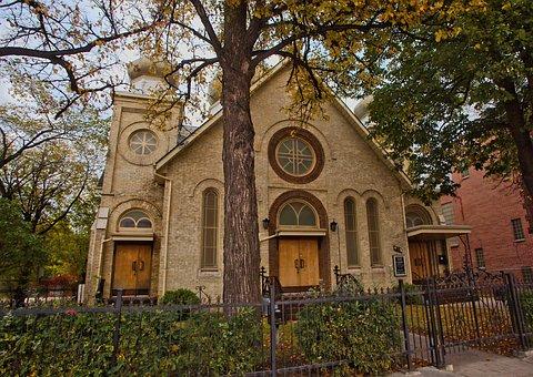 Church, Catholic, Winnipeg, Architecture, Faith