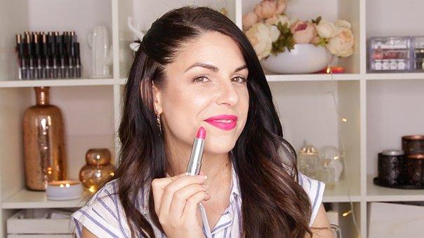 Lipstick, Makeup, Woman