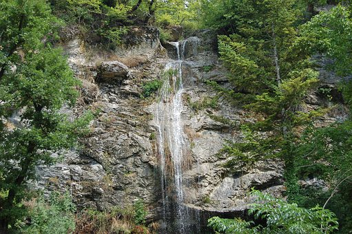 Waterfall, Appennino, Gran Sasso, Cerqueto, Abruzzo