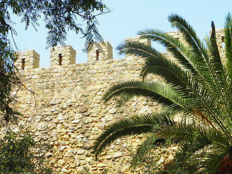 Lagos, Wall, Fortress, Historically, Portugal, Algarve
